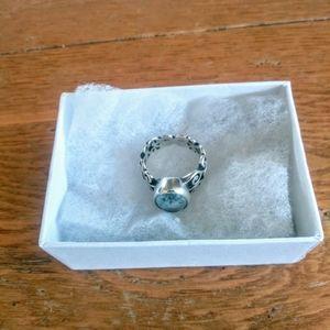 Brighton Aquamarine Vintage Ring